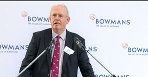 Robert Legh. Bowmans chair and senior partner