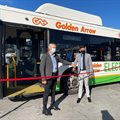 Golden Arrow launches South Africa's first electric-powered bus