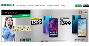 Ackermans doubles down on cellular with Ackermans Connect online