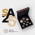 SA Mint commemorates 25 years of democracy with the launch of their new coin range