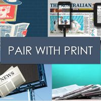 Print pairs well with all media