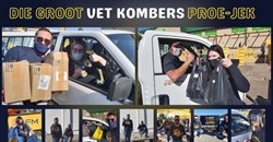 'Groot Vet Kombers Proe-jek' rises to occasion with R450,000 for charity!