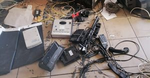 Radio stations and communication infrastructure destroyed by protestors