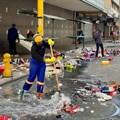 Durban volunteers and workers clean up en masse