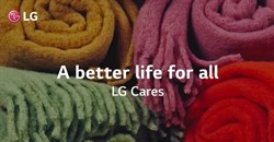 LG Cares supports the Kolisi Foundation and Stor-Age Blanket Drive