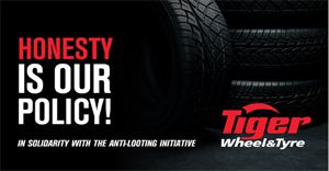 Tiger Wheel & Tyre to refuse to fit any looted tyres