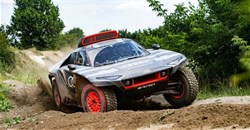 Audi RS Q E-tron Dakar racer revealed