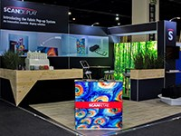 Scan Display halves its exhibition stand costs at Madex 2018