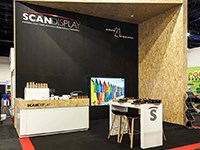 Scan Display honoured to receive four exhibition industry awards