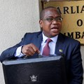 Zimbabwe finance minister Mthuli Ncube arrives to present the 2020 National Budget at Parliament Building in Harare, Zimbabwe, 14 November, 2019. Reuters/Philimon Bulawayo