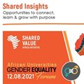 Advancing gender equality in the workplace: African Universities Gender Equality Forum - Register now!