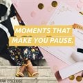 Moments that make us pause