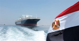 Container ship Ever Given crosses the Suez canal again