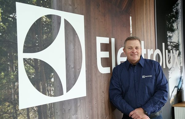 Murray Crow, Electrolux South Africa MD