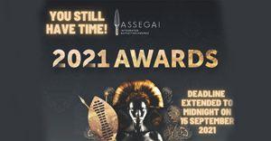 Deadline for the 2021 Assegai Awards extended