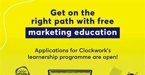Clockwork's Marketing Learnership Programme is now open to applicants