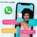 Maybelline's WhatsApp selfie superstars snap up latest 'Fit Me' campaign