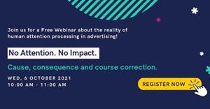 Free webinar - No Attention! No Impact! Cause, Consequence and Course Correction