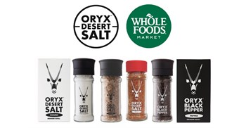 SA's Oryx Desert Salt lands listing at Whole Foods