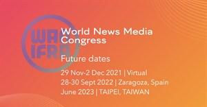 World News Media Congress 2021 goes virtual