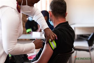 Heineken SA provides shot in the arm to vaccination efforts