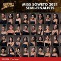 2021 Miss Soweto semi finalists