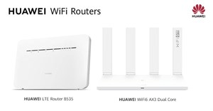 In store now - The Huawei Wi-Fi6 AX3 router and Huawei B535 router