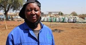 Tembisa mom turns illegal dumpsite into vegetable garden