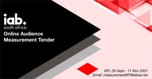 Online Audience Measurement partner: IAB SA invites industry members to tender