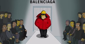 WATCH: Balenciaga and The Simpsons unite for special fashion week collaboration