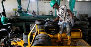 A new type of black gold in Nigeria: used car tyres