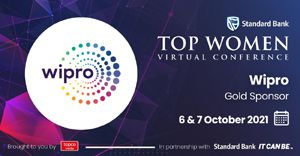 The Standard Bank Top Women and Wipro Limited celebrate a partnership for the 2021 virtual conference