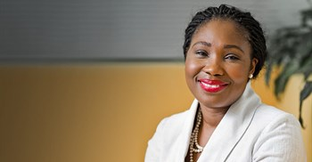 Source: supplied. Delphine Traoré, takes up the role of Allianz Africa regional CEO, 1 November, 2021