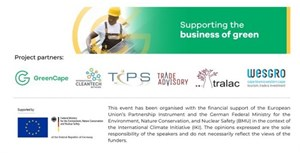 EU in SA project provides support for local green SMMEs to understand opportunities in the EU Green Deal