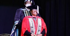 Justice Bess Nkabinde receives an honorary doctorate from the NWU