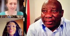 President Ramaphosa attends meeting on SA Startup Act