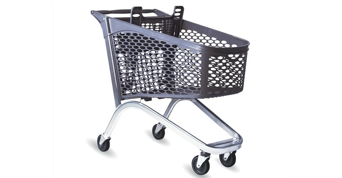 Pick n Pay trolley awarded as winner of Sapro competition for best recycled product of 2021