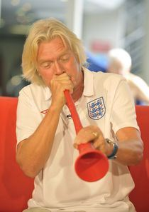 "Sir Richard Branson launches ""streaker training"" class at Virgin Active"