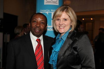 Kenneth Maomela (New OHMSA chairman), Melissa Moore (New OHMSA executive).