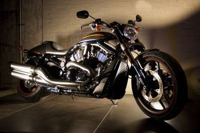 The new 2012 Harley-Davidson® VSRCDX