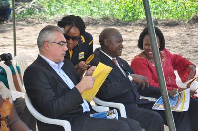 MTN Uganda gives back - Amuria Water Project