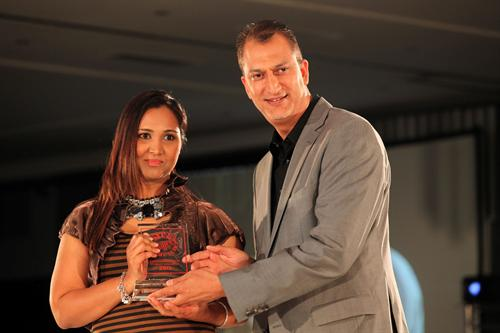 Shaadia Vawda, Marketing Director: Laundry, Unilever and Zunaid Dinath