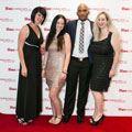 Barbara Van dear Walt, Bongs Sibisi and Chantal Riley (PR Worx)