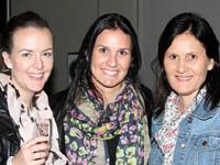 Seen at the Hardy Boys Office is Sam McEwen, Tesha Figueiredo and Bridgette Landsberg