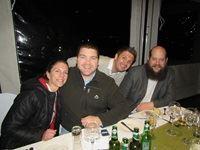 Lindy Rudman (Cyberkinetics), Stephen van Niekerk (Mindshare), Leigh Hitch (Hitch Digital) and Moti Grauman (Mindshare)