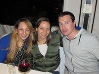 Samantha Kay (Aegis Group), Lerina Bierman (Carat) and Kelvin Storie (Vizeum)