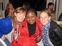 Lorraine Landon (Landon Digital), Zione Akule (Habari Media) and Olivia Smit (Base Two)