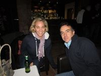 Lauren Stevens and Juan Uribe both from SAB