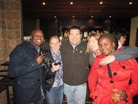 Peter Monaise (Mindshare), Olivia Smit (Base Two), Stephen van Niekerk (Mindshare), Lorraine Landon (Landon Digital) and Zione Akule (Habari Media)