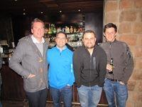 Michael Krynauw (Distell), Garth Rhoda (Habari Media), Greg Sinnett (Habari Media) and Matt Eagar (The Hub)
